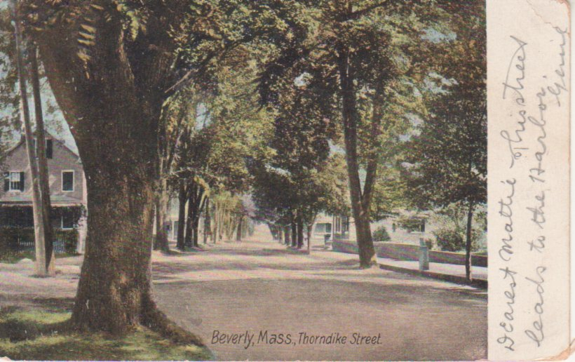 Postcard of Thorndike Street